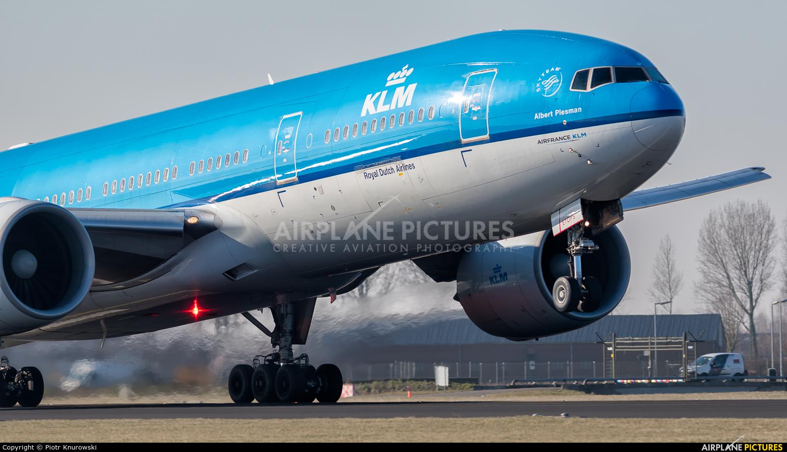 KLM PH-BQA aircraft at Amsterdam - Schiphol