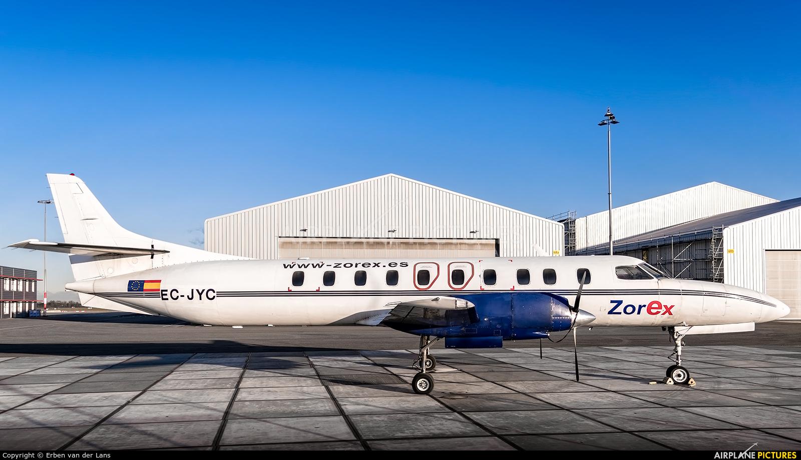 Zorex EC-JYC aircraft at Rotterdam