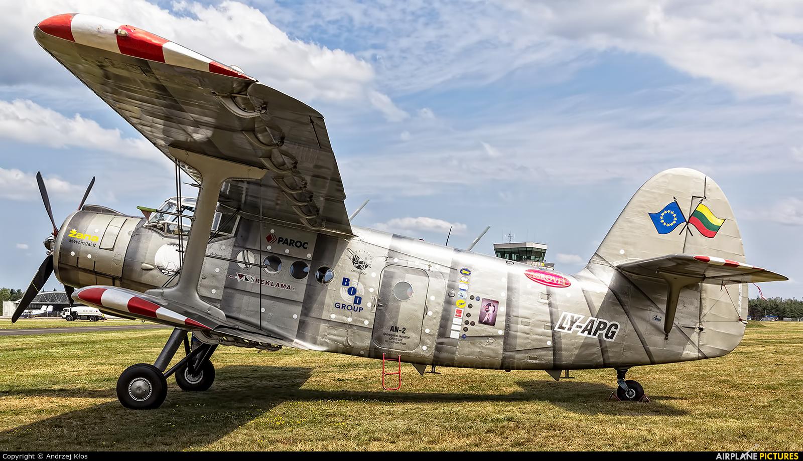 Private LY-APG aircraft at Mielec