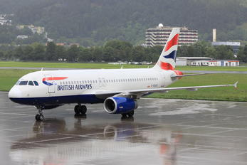 G-EUUZ - British Airways Airbus A320