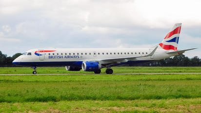 G-LCYK - British Airways - City Flyer Embraer ERJ-190 (190-100)