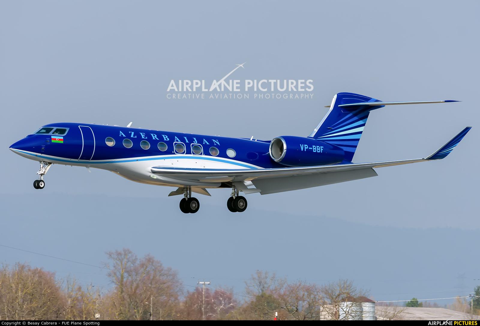 Azerbaijan - Government VP-BBF aircraft at Geneva Intl