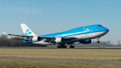 PH-BFB - KLM Boeing 747-400