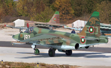 197 - Bulgaria - Air Force Sukhoi Su-25K