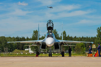 RF-91813 - Russia - Air Force Sukhoi Su-30SM