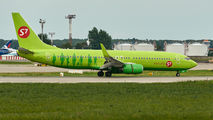 VQ-BVK - S7 Airlines Boeing 737-800 aircraft