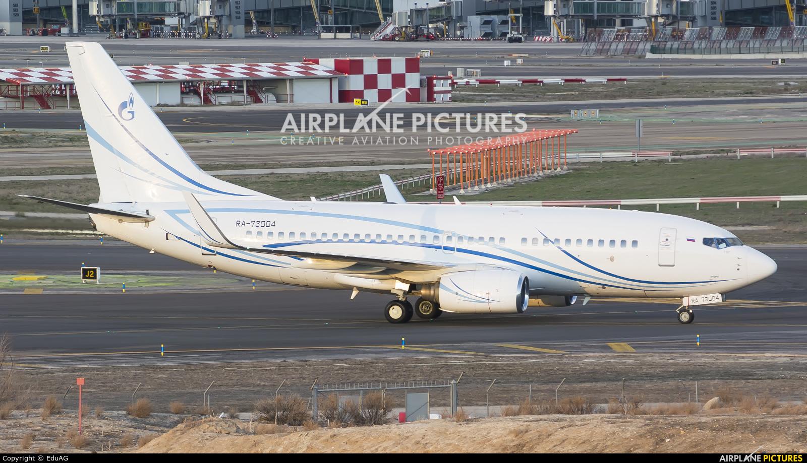 Gazpromavia RA-73004 aircraft at Madrid - Barajas