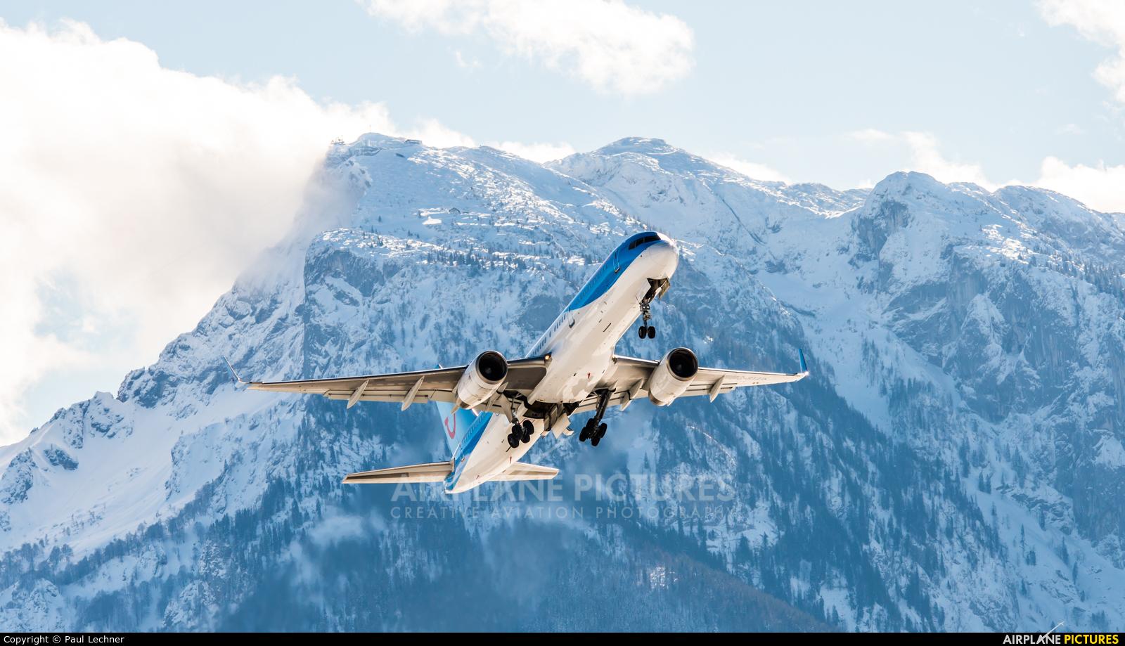 TUI Airways G-BYAW aircraft at Salzburg