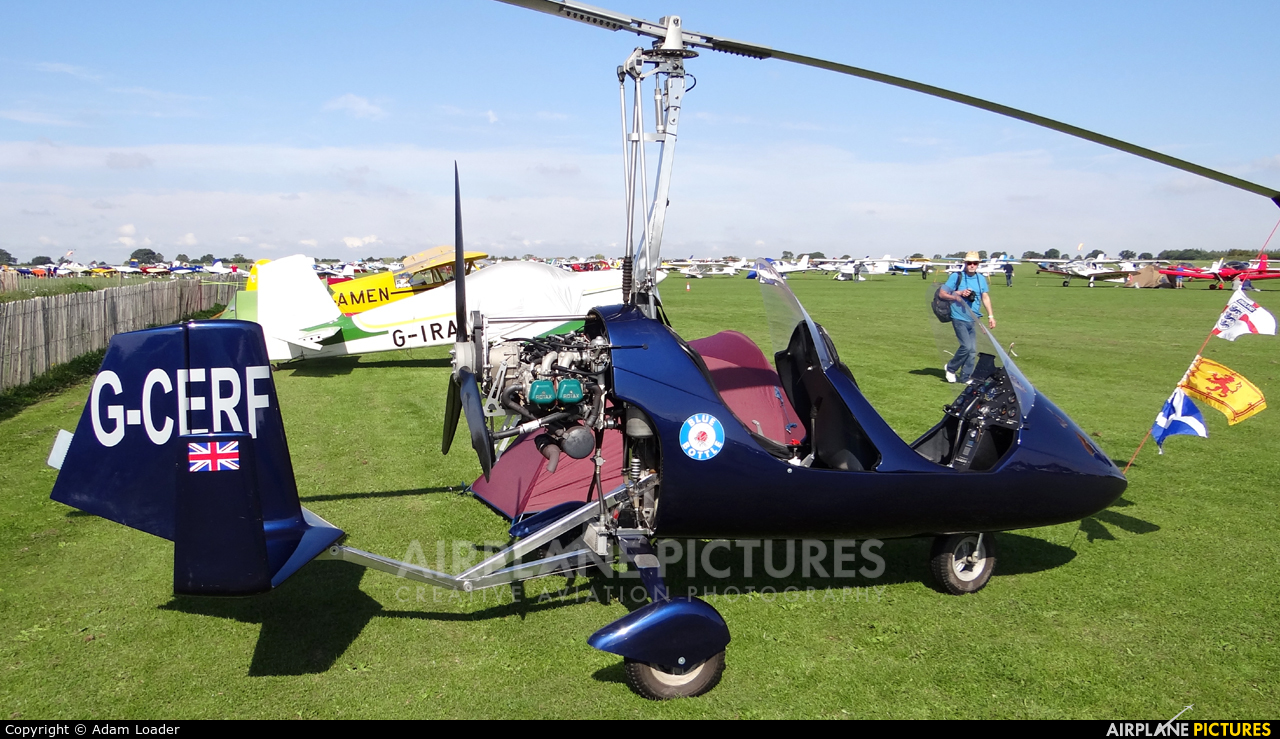 Private G-CERF aircraft at Northampton / Sywell