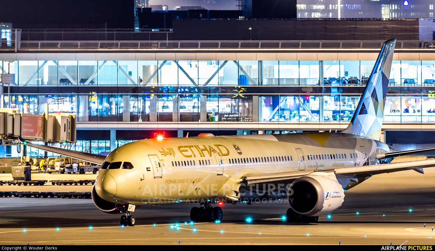 Etihad Airways A6-BLF aircraft at Amsterdam - Schiphol