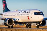 C-FTJV - Air Canada Boeing 737-8 MAX aircraft
