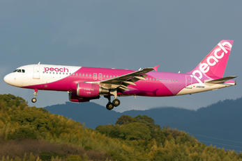 JA808P - Peach Aviation Airbus A320