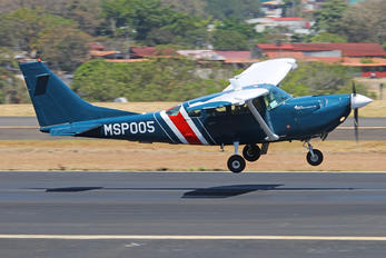 MSP005 - Costa Rica - Ministry of Public Security Cessna 206 Stationair (all models)