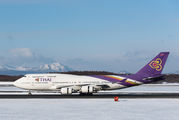 HS-TGO - Thai Airways Boeing 747-400D aircraft