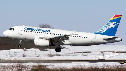 SX-ABE - Congo Airways Airbus A319
