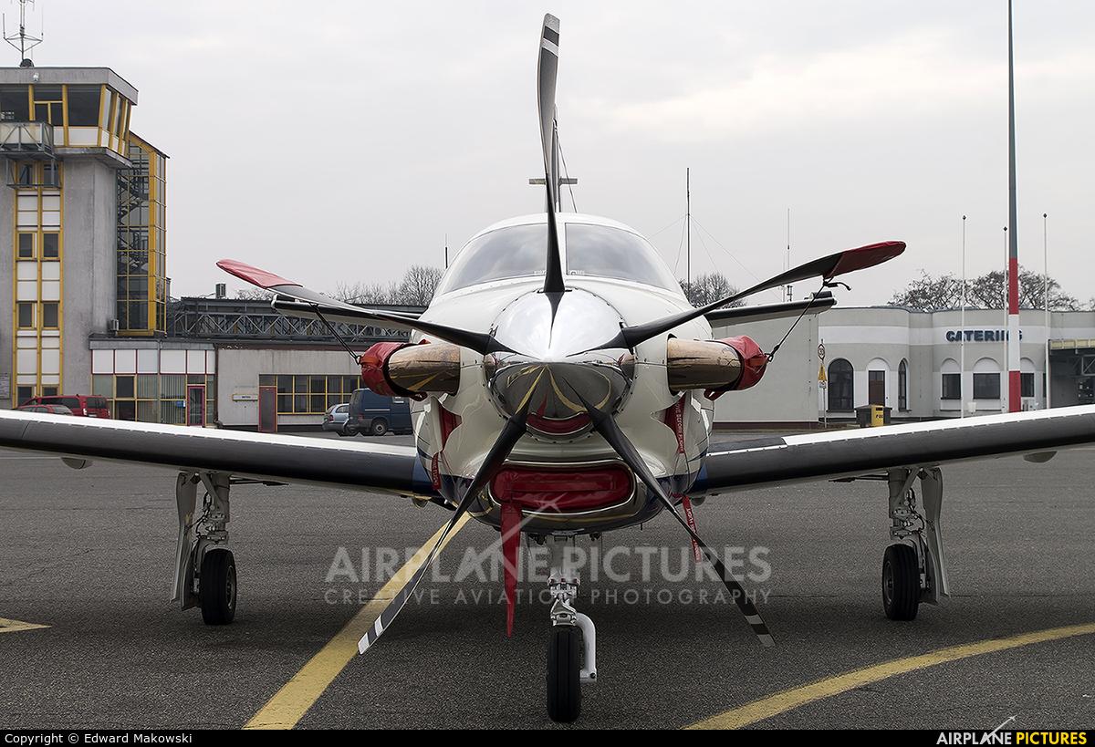 Private SP-TBM aircraft at Poznań - Ławica