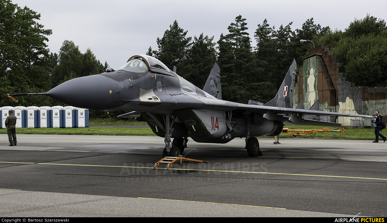 Poland - Air Force 114 aircraft at Gdynia- Babie Doły (Oksywie)