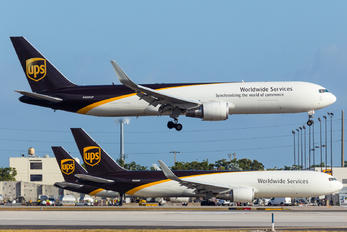 N350UP - UPS - United Parcel Service Boeing 767-300F