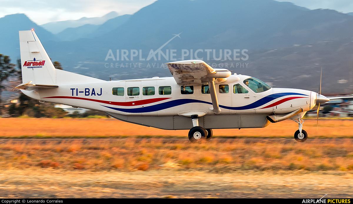 Aerobell Air Charter  TI-BAJ aircraft at San Jose - Tobías Bolaños Intl