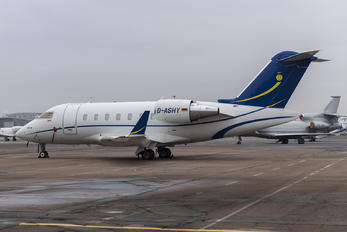 D-ASHY - Private Bombardier BD-100 Challenger 300 series