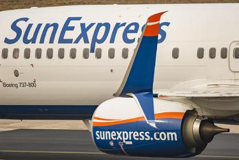 TC-SEK - SunExpress Boeing 737-800