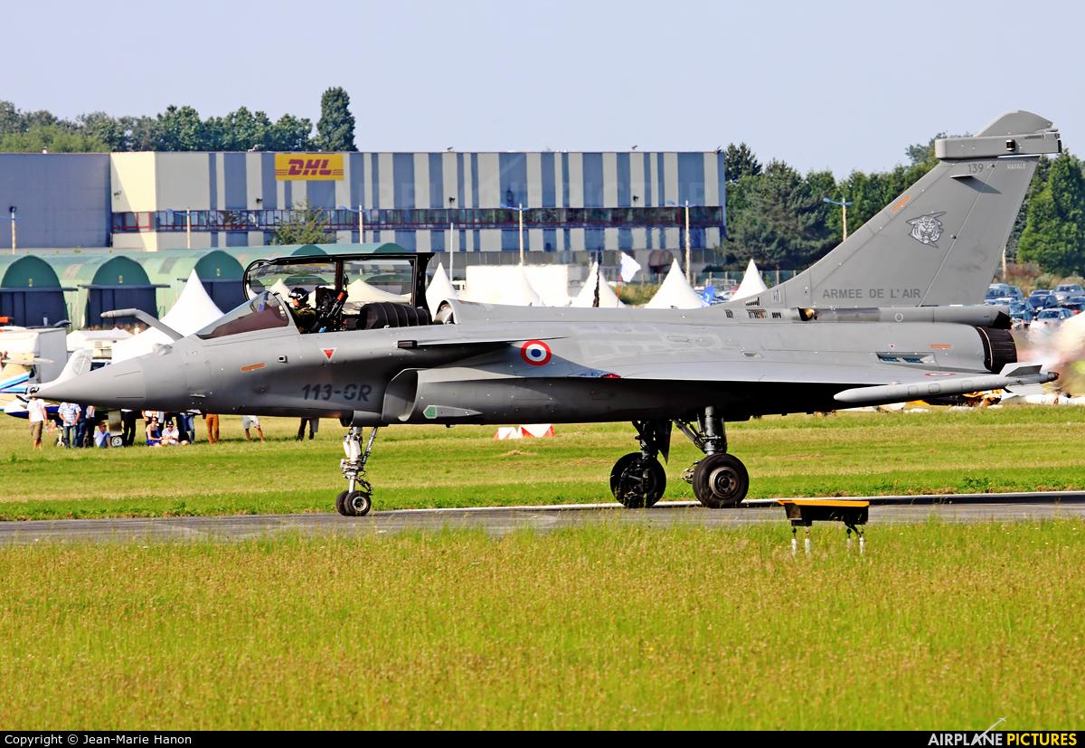 France - Air Force 139 aircraft at Valenciennes - Denain