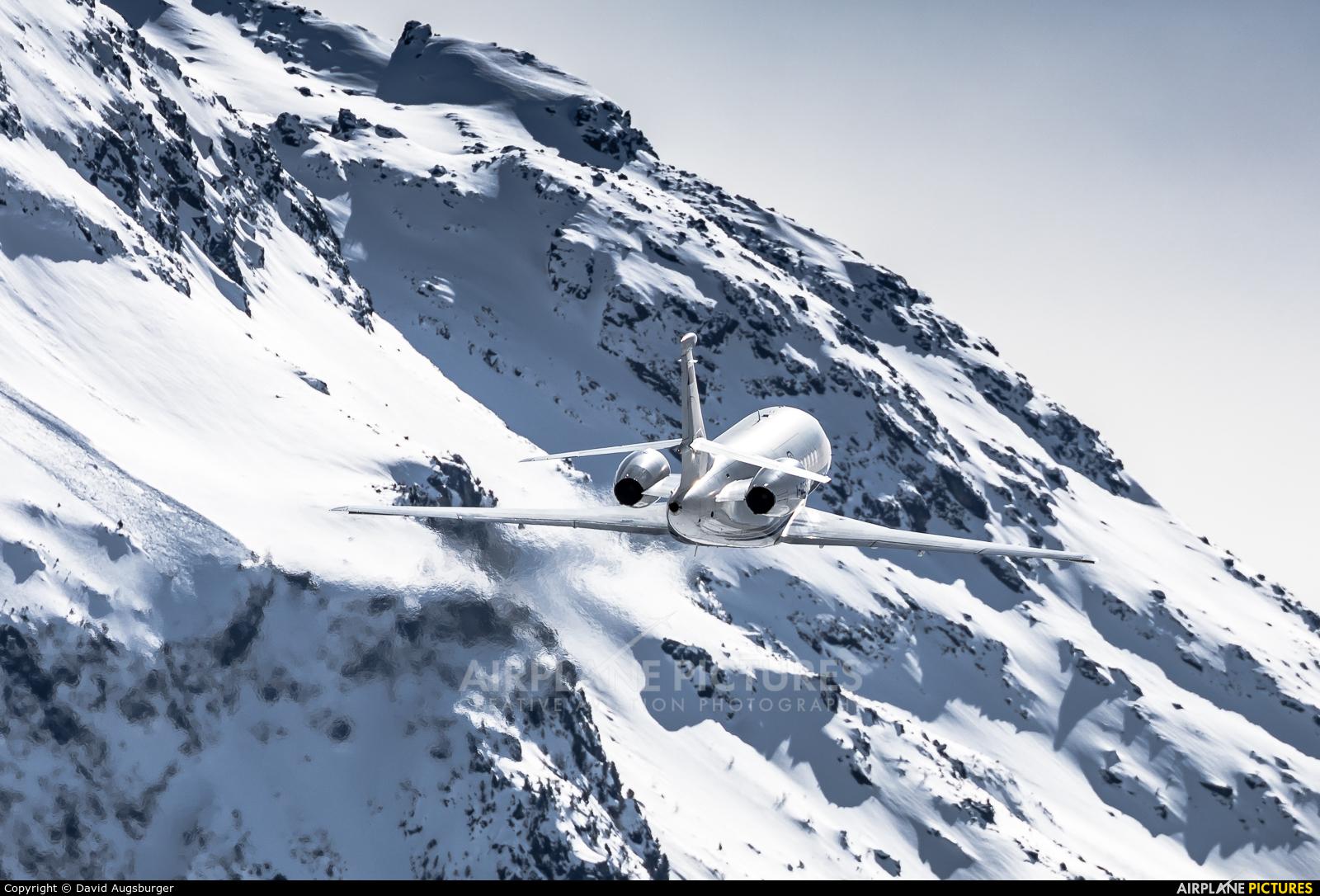 Private I-GEFD aircraft at Samedan - Engadin