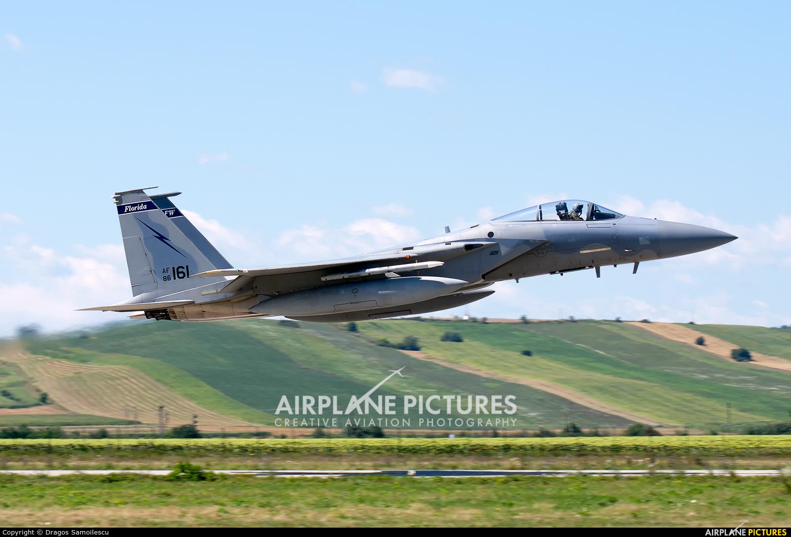 USA - Air National Guard 86-0161 aircraft at Câmpia Turzii