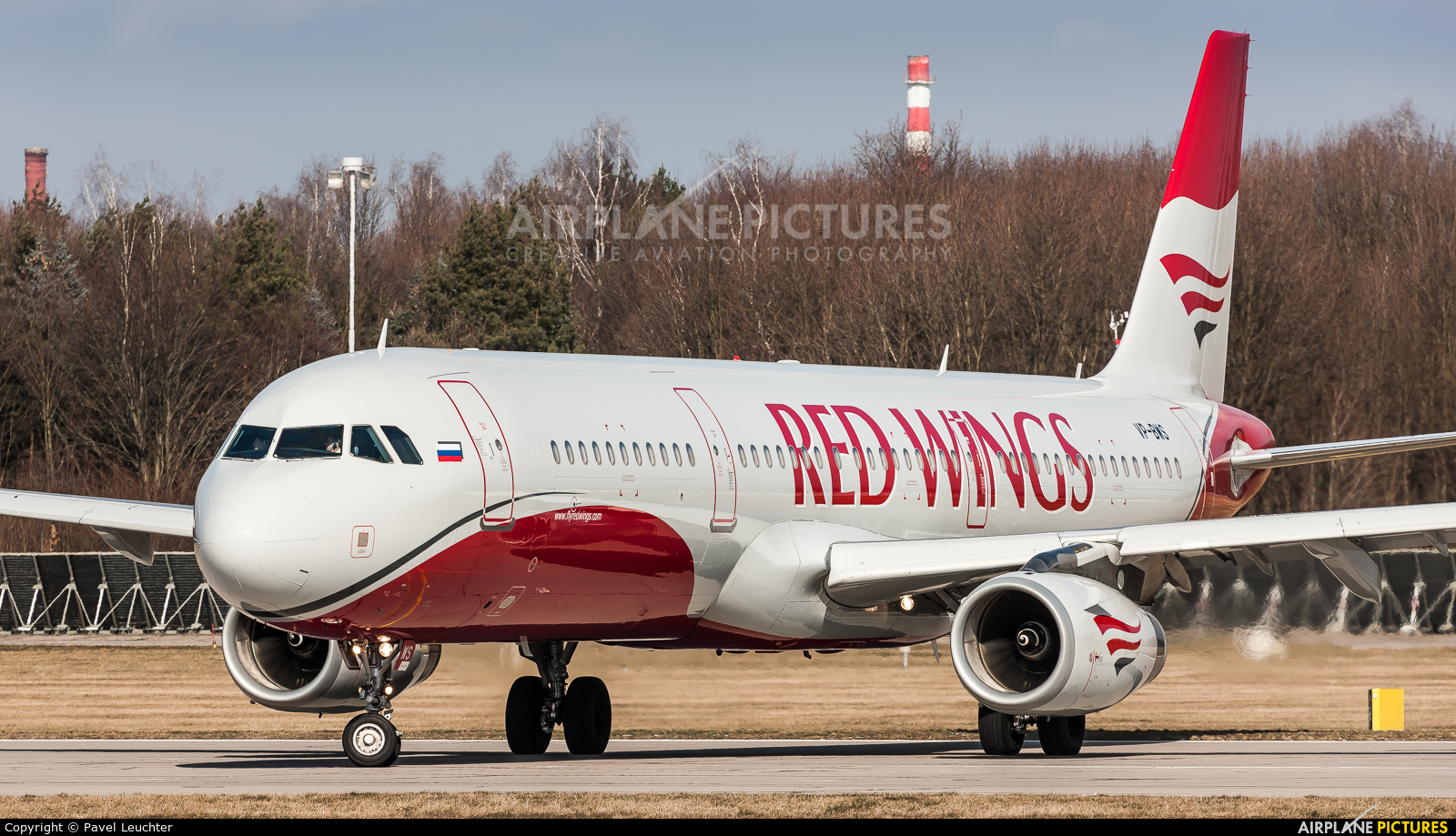 Red Wings VP-BWS aircraft at Pardubice