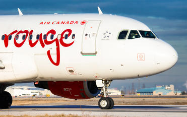 C-FYJG - Air Canada Rouge Airbus A319