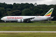Inaugural flight of Ethiopian from Addis Ababa to Buenos Aires via Sao Paulo title=