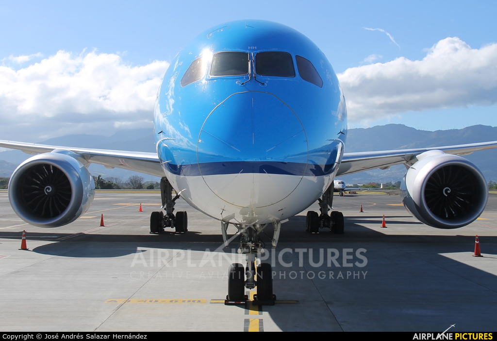 KLM PH-BHH aircraft at San Jose - Juan Santamaría Intl