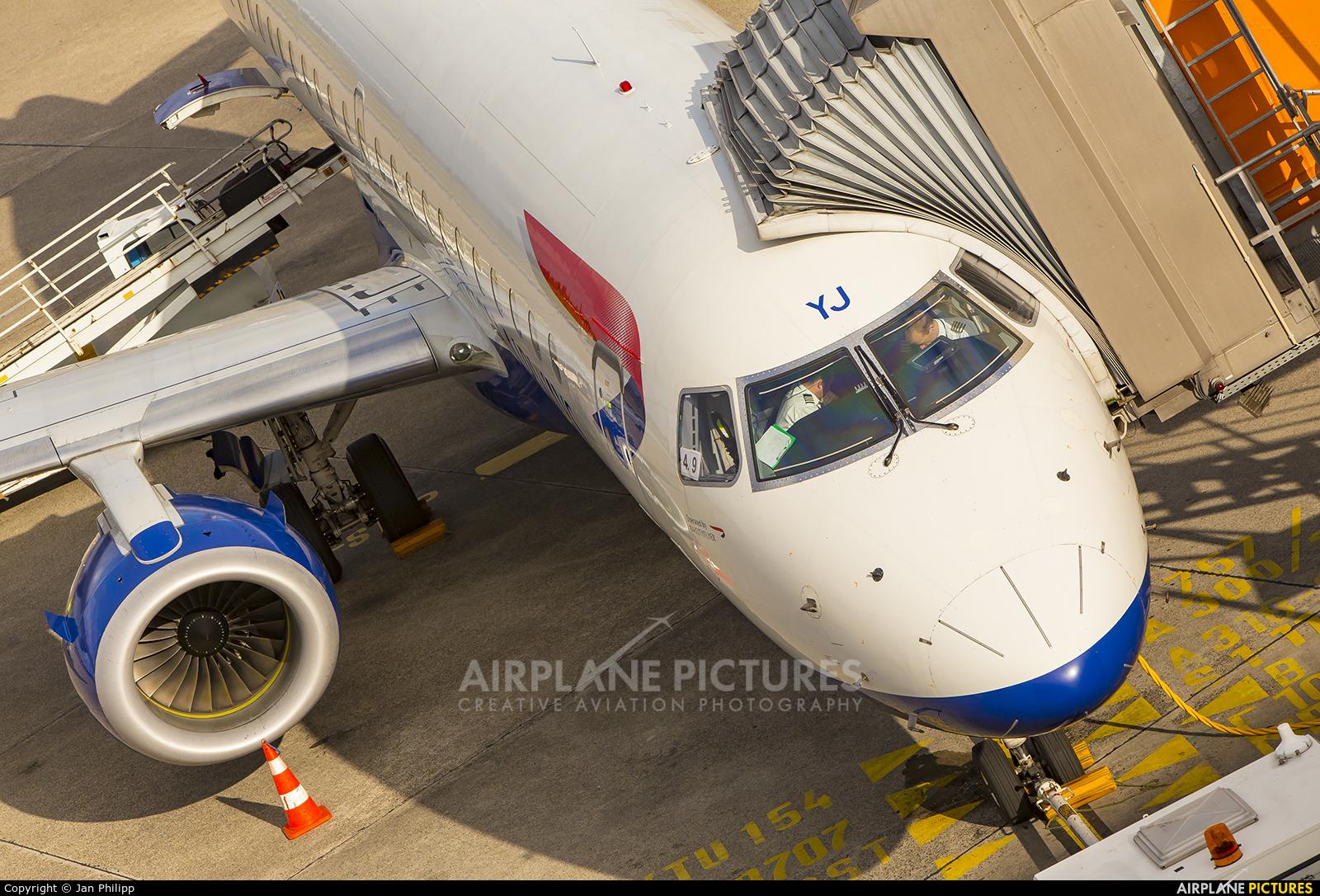 British Airways - City Flyer G-LCYJ aircraft at Berlin - Tegel