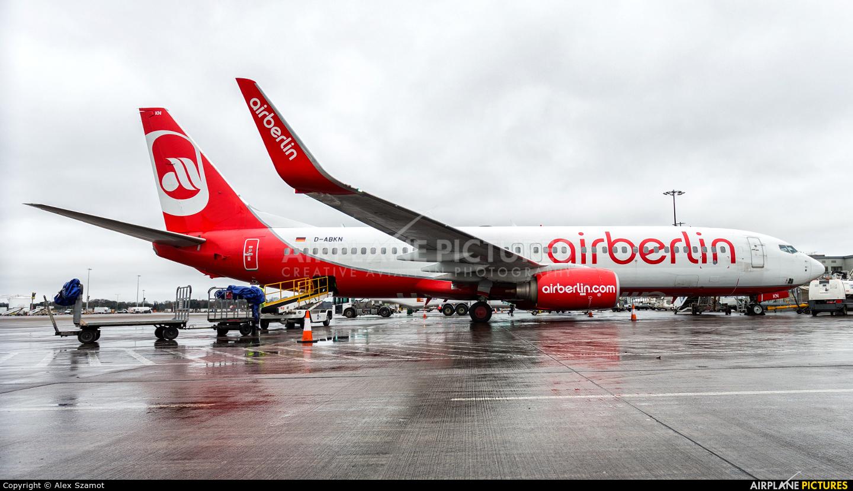 TUIfly D-ABKN aircraft at Edinburgh