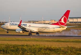 TC-JVF - Turkish Airlines Boeing 737-800