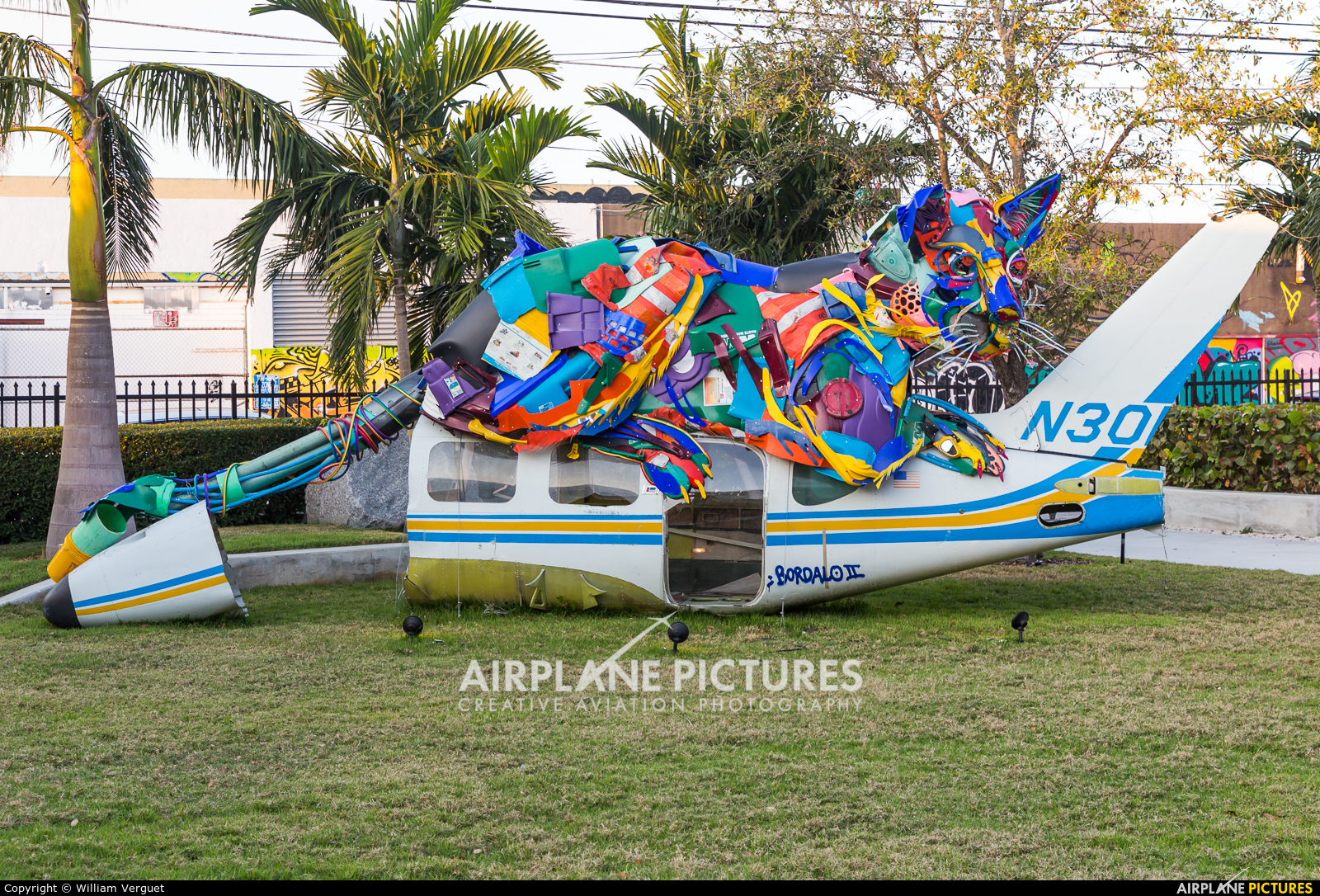 Private N30DC aircraft at Off Airport - Florida