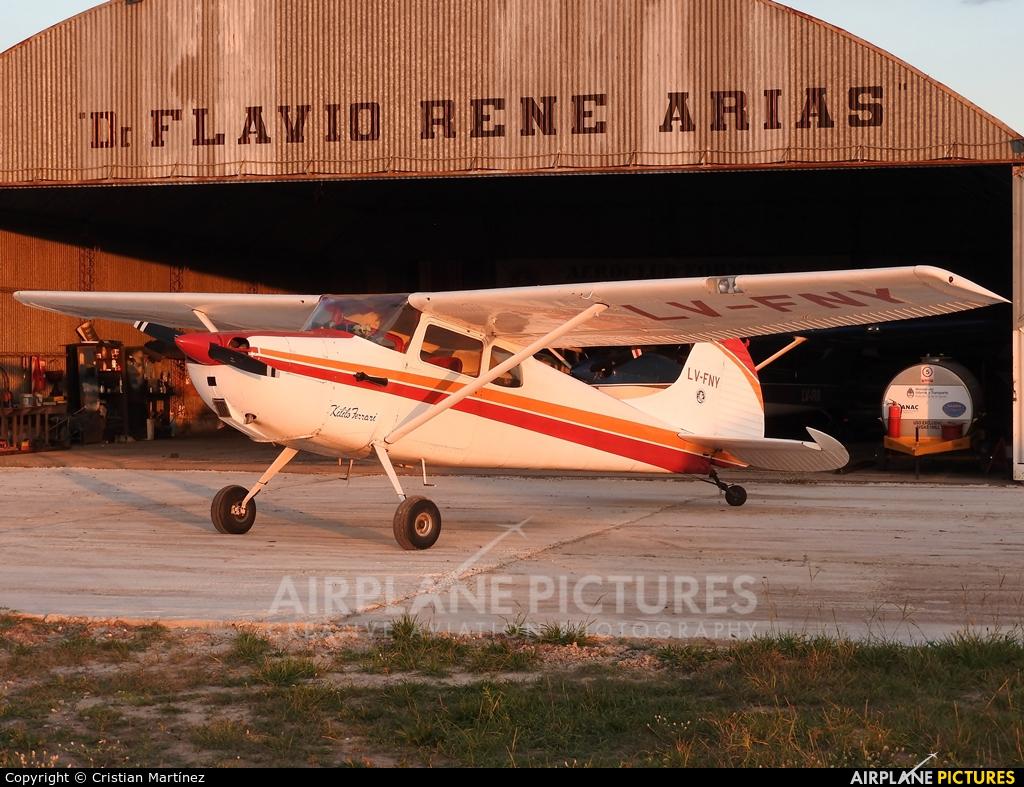 Private LV-FNY aircraft at Formosa Intl