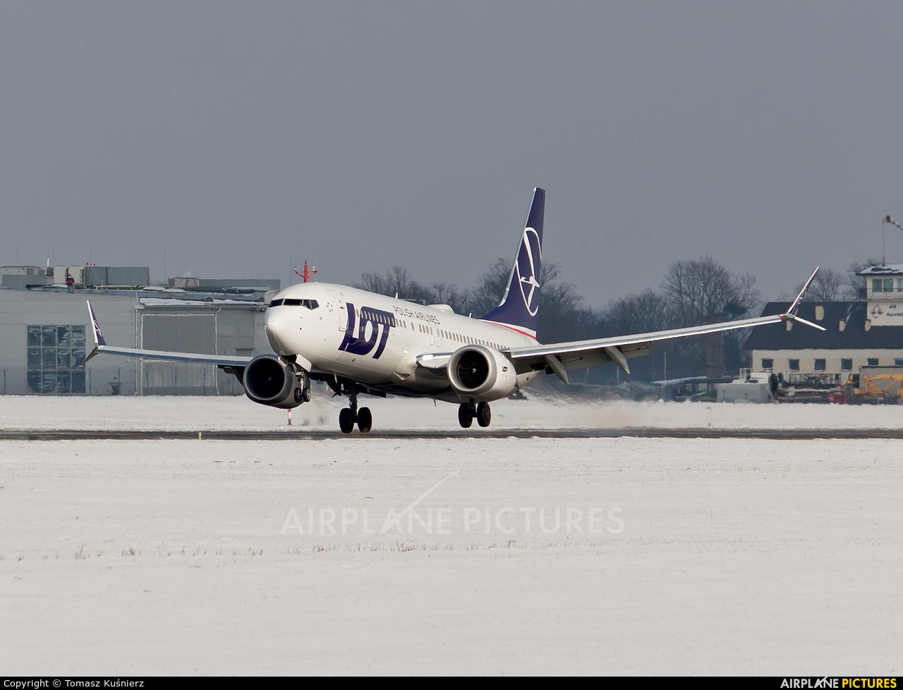 LOT - Polish Airlines SP-LVA aircraft at Rzeszów-Jasionka