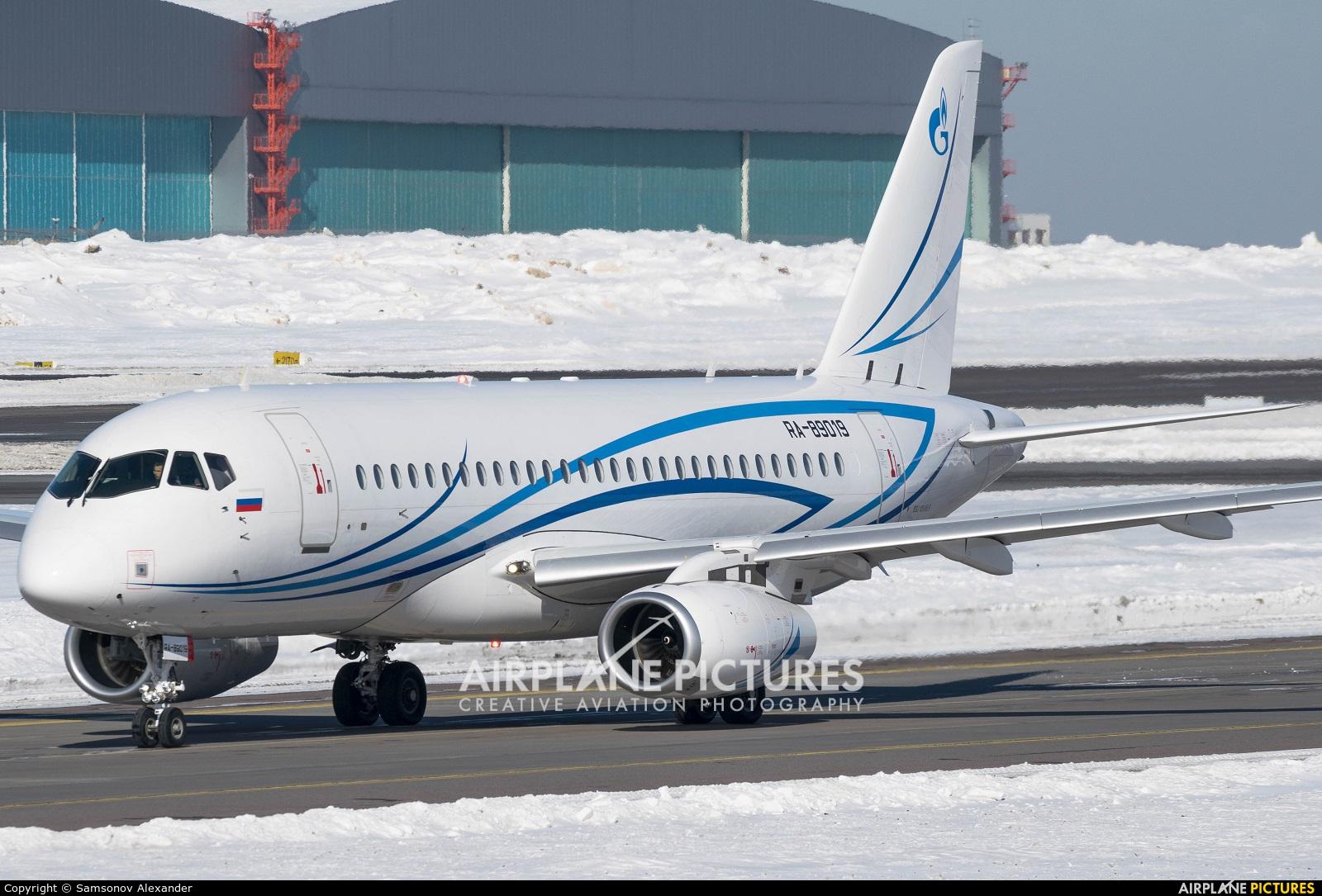 Gazpromavia RA-89019 aircraft at Moscow - Vnukovo