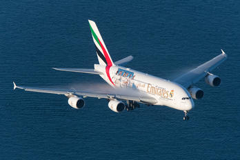 A6-EUG - Emirates Airlines Airbus A380