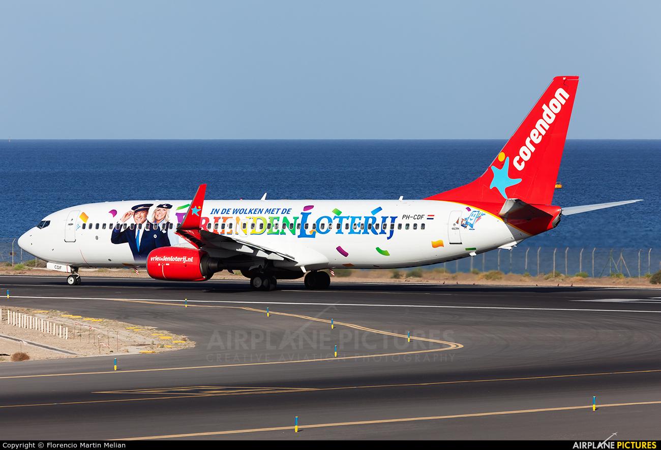 Corendon Dutch Airlines PH-CDF aircraft at Lanzarote - Arrecife