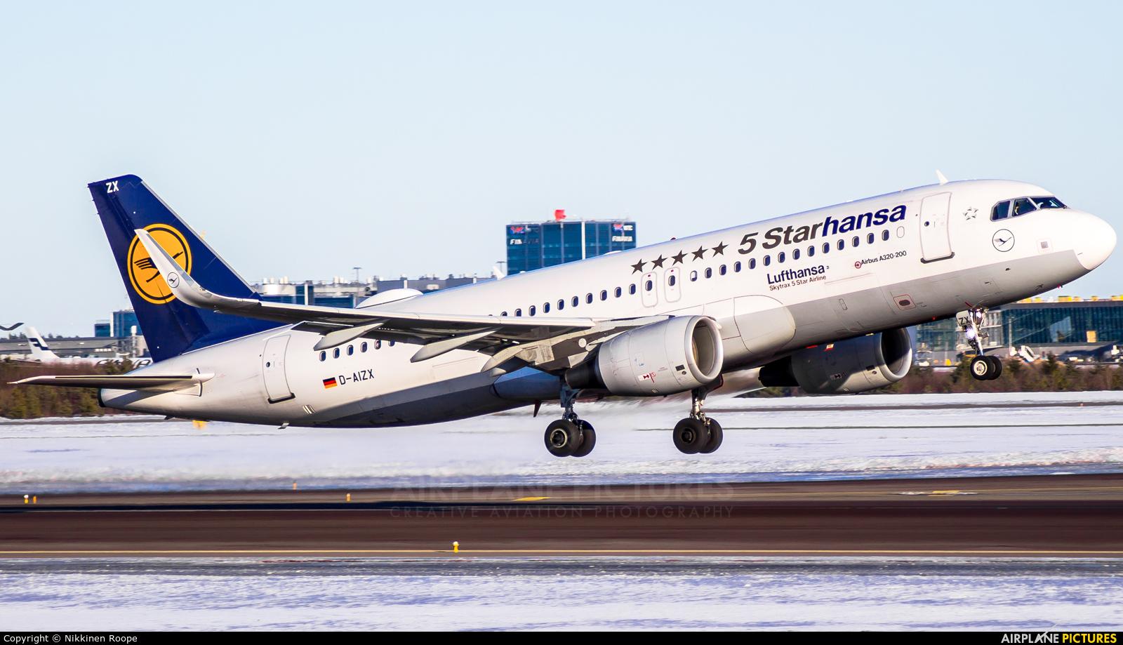 Lufthansa D-AIZX aircraft at Helsinki - Vantaa