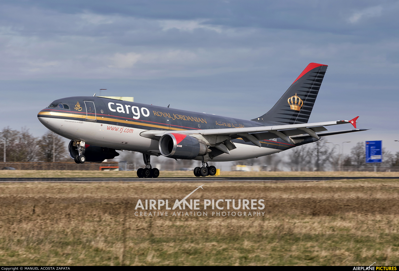 Royal Jordanian Cargo JY-AGQ aircraft at Maastricht - Aachen