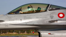 E-603 - Denmark - Air Force General Dynamics F-16A Fighting Falcon aircraft