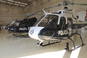 PF-318 - Mexico - Police Eurocopter AS350 Ecureuil / Squirrel