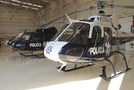 Mexico - Police Eurocopter AS350 Ecureuil / Squirrel PF-318 at Off Airport - Mexico airport