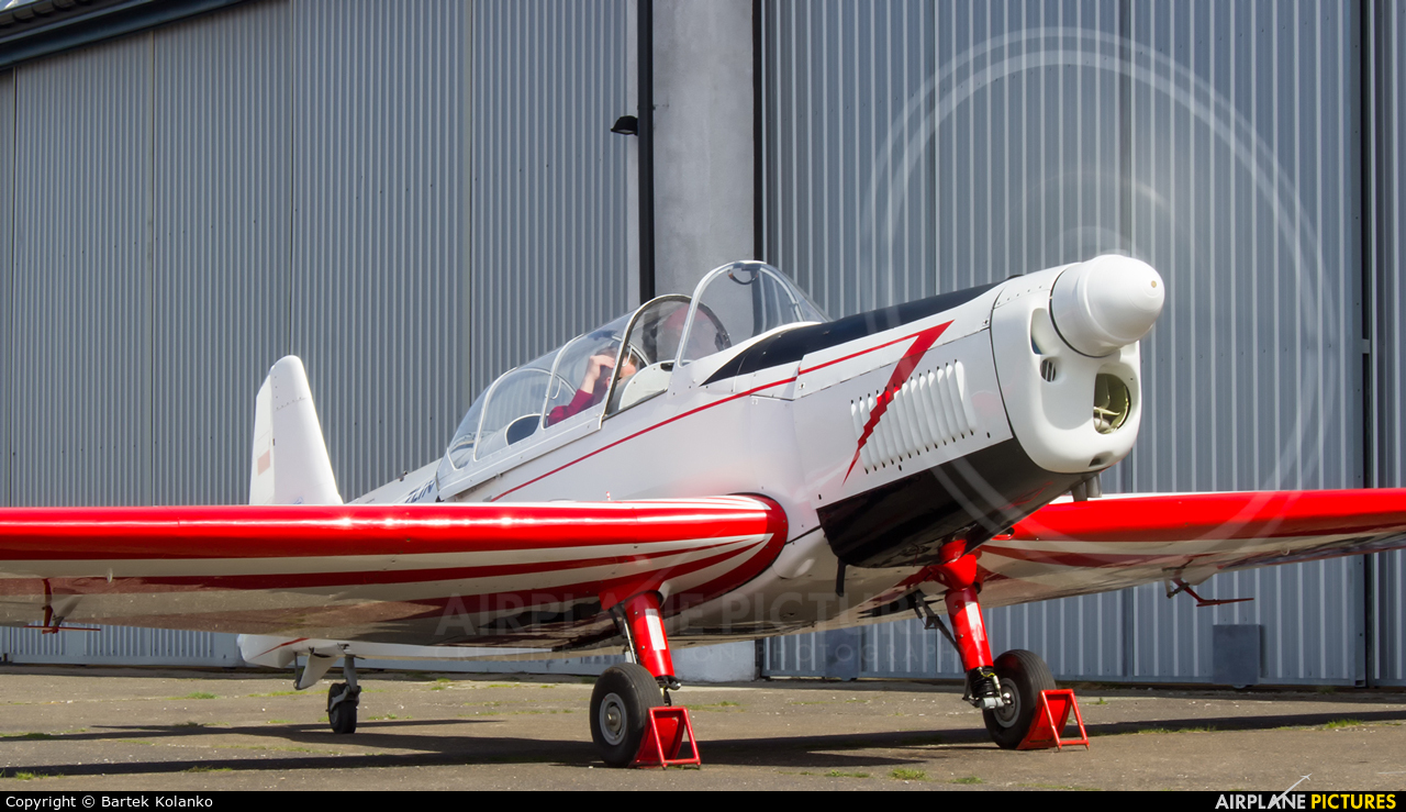 Aeroklub Radomski SP-CDN aircraft at Krosno