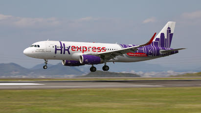 B-LCG - Hong Kong Express Airbus A320