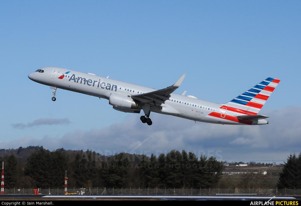 American Airlines N175AN aircraft at Edinburgh