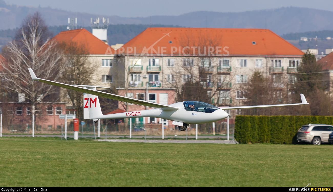 Private LY-GZM aircraft at Prievidza